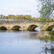 Otley bridge over the River Wharfe