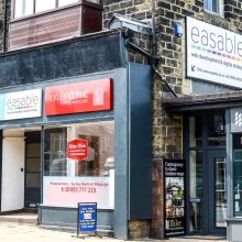 easable shop front in Ilkley