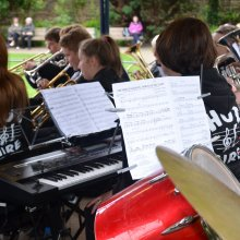 Ilkley Bandstand keyboards