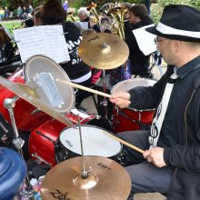 Ilkley Bandstand drums
