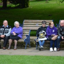 Ilkley Bandstand audience