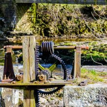 Old iron works